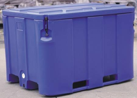 1000Ltr Insulated Squat Nylex Cool Bin