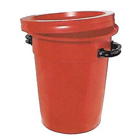 45ltr Round Tapered Bin (Handles Extra)
