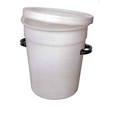 90ltr Round Tapered Bin NR (Handles Extra)