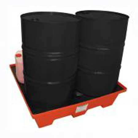 220Ltr 4 Drum Bund